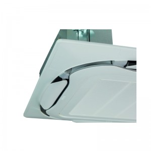 Standard decoration panel (RAL9010, grey discharge openings) BYCQ140E