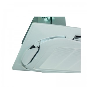 Full-white (RAL9010) Decoration panel (including white discharge openings) BYCQ140EW