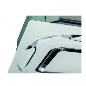 New Designer panel in white (RAL 9010), BYCQ140EP