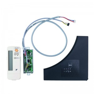 Infra-red wireless remote controller for designer panels, black, no individual flap control possible, BRC7FB532FB