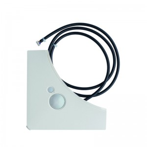Presence & Floor sensors for white standard panel, must be combined with the BRC1E* or BRC1H51* wired remote controller, BRYQ140B