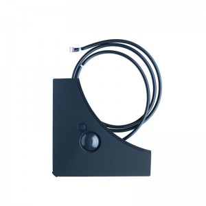 Presence & Floor sensors for black standard panel, must be combined with the BRC1E* or BRC1H51* wired remote controller, BRYQ140BB
