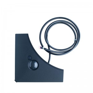 Presence & Floor sensors for black designer panel, must be combined with the BRC1E* or BRC1H51* wired remote controller, BRYQ140CB