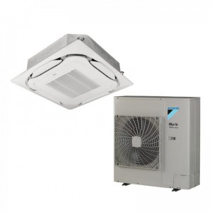 Daikin Ceiling Cassette Sky Air Alpha FCAG125B+RZAG125NY1 42000 Btu/h INVERTER excluding panel 3Phase