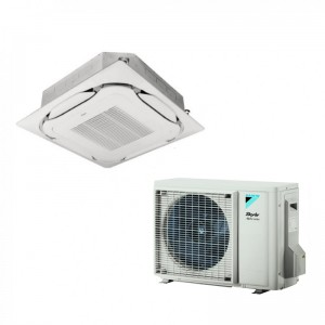 Daikin Ceiling Cassette Sky Air FCAG50B+RZAG50A 18000 Btu/h INVERTER excluding panel