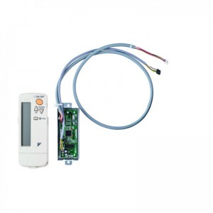 Infra-red wireless remote controller for DESIGNER PANELS, white, no individual flap control possible, BRC7FA532F